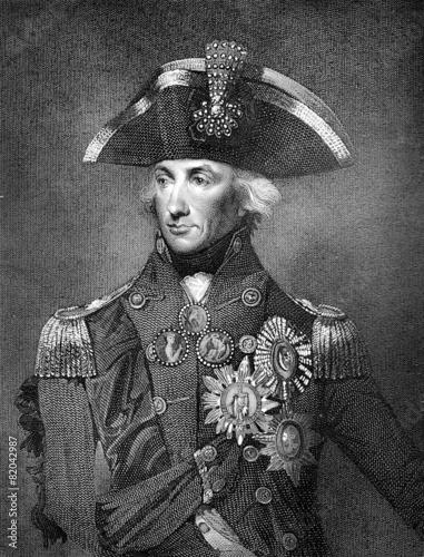 Leinwanddruck Bild Lord Nelson