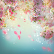 Spring Cherry Blossom Background - 82044305