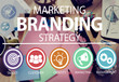 Brand Branding Marketing Commercial Name Concept - 82045397