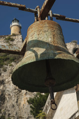 CORFU/GREECE 3RD OCTOBER 2006 - Bell in Old Fortress