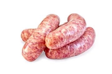 Sausages pork raw
