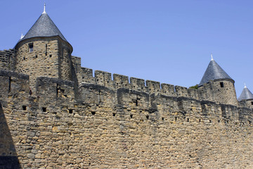 Carcassone towers palace