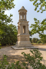 Famous Mausoleum of the Julii (Glanum, Provence)