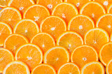 Fototapety Orange Slices Background