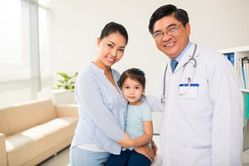 At pediatrician