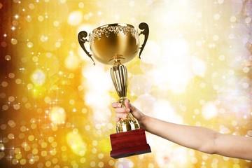 Trophy. I won!