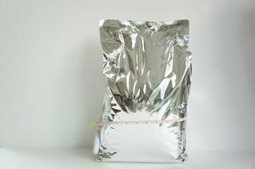crunch chips potato crispy bag  big  reflection concept