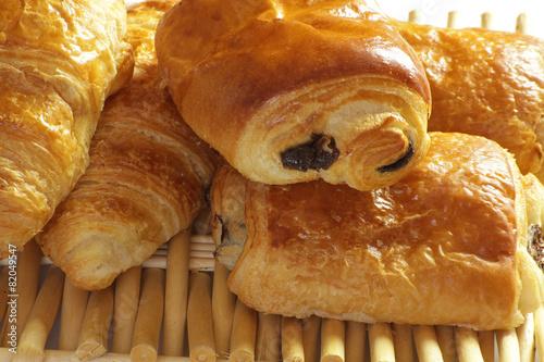 Papiers peints Boulangerie croissants et pains au chocolat 23042015