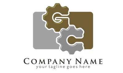 GC Initial Letter Logo Vector