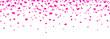 Herzkonfetti Banner - Pink - 82052171