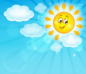 Image with happy sun theme 5
