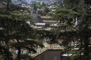 Sisteron view