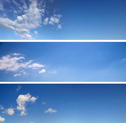Himmel Hintergrund Set