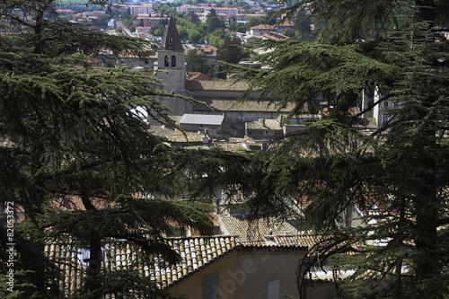 Widok Sisteron