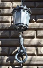 Street lantern in Riga.