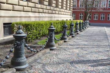Street in center of Riga.