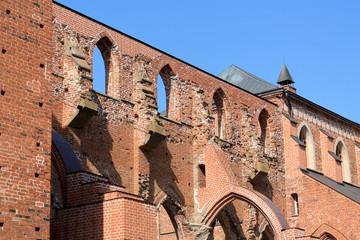 THE RUINS OF THE DOME CHURCH IN ESTONIA