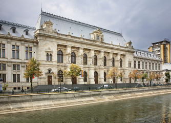 Palace of Justice in Bucharest. Romania