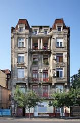 Building in Bucharest. Romania