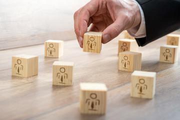 Blocks for Customer-Managed Relationship Concept