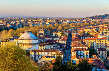 View of Turin in the evening - Italy