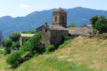 church of Buerba.(Pyrenees).Huesca.Spain