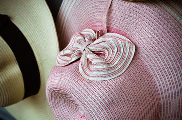 Pink vintage ladies hat