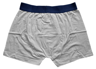Male underwear - White