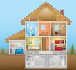 House Interior - 82064320