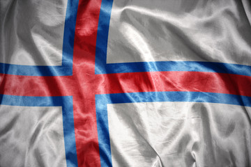 shining faroe islands flag