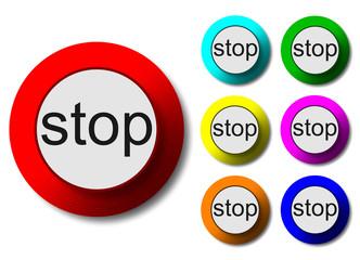 stop düğmesi