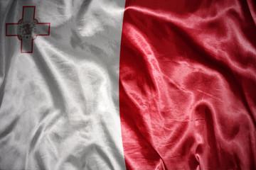shining malta flag