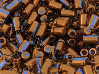 3D Capacitors