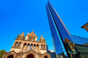Boston Trinity Church at Copley Square