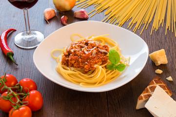 Spaghetti Bolognese Vegetarisch