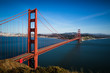 San Francisco Golden Gate Bridge and cityscape at sunset - 82071577