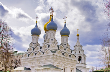 Cathedral of Saint Nikolay in Moscow