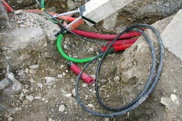 réfection du réseau électrique
