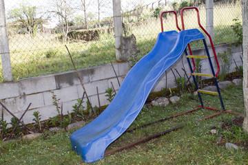 slide in the field