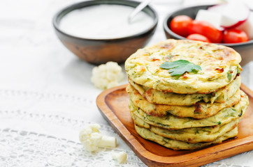 cauliflower tortillas mini
