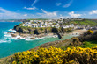 Leinwanddruck Bild - Port Isaac Cornwall England