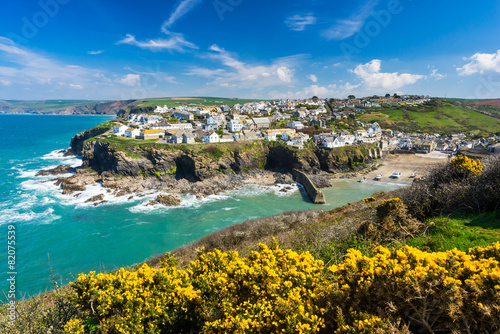Leinwanddruck Bild Port Isaac Cornwall England