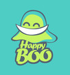Постер, плакат: Host happy logo