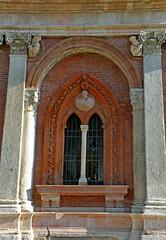 bifora; antico ospedale Ca' Granda, Milano