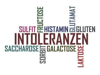 Intoleranzen - Weisser Hintergrund