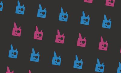 Background Rabbit Pattern