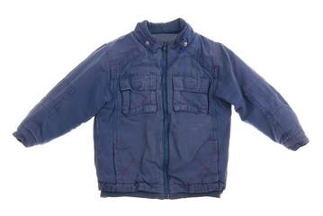 Children's jacket isolated on white background
