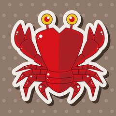 crab theme elements
