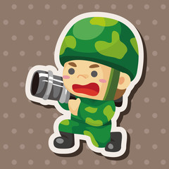 people theme soldier elements
