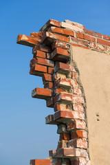 XXX - Mauerfragment einer Ruine - 9037